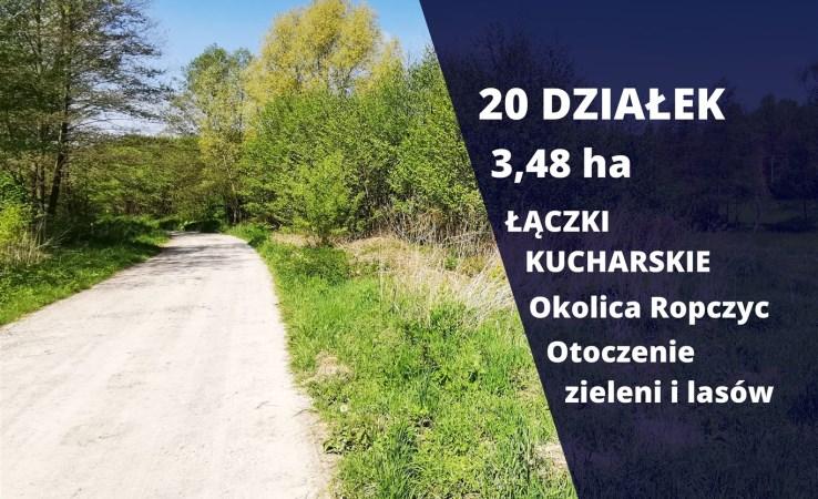 działka na sprzedaż - Ropczyce (gw), Łączki Kucharskie